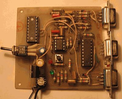 Испытан программатор только с микроконтроллерами PIC16F628A и PIC16F84.